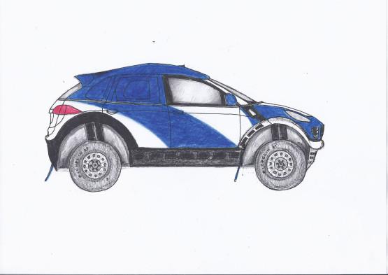 Szkic koncepcyjny na podstawie wcześniejszego szkicu 3D